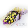 노랑장미(꽃다발)