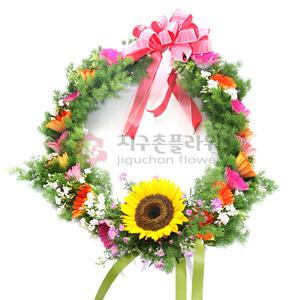 꽃목걸이 1호(전화문의)