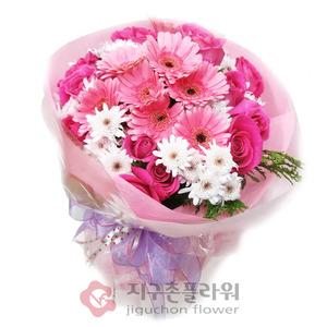 장미거베라(꽃다발)