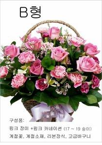 핑크라이트 (꽃바구니)