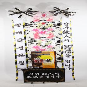 쌀근조화환10KG(꽃그림판)